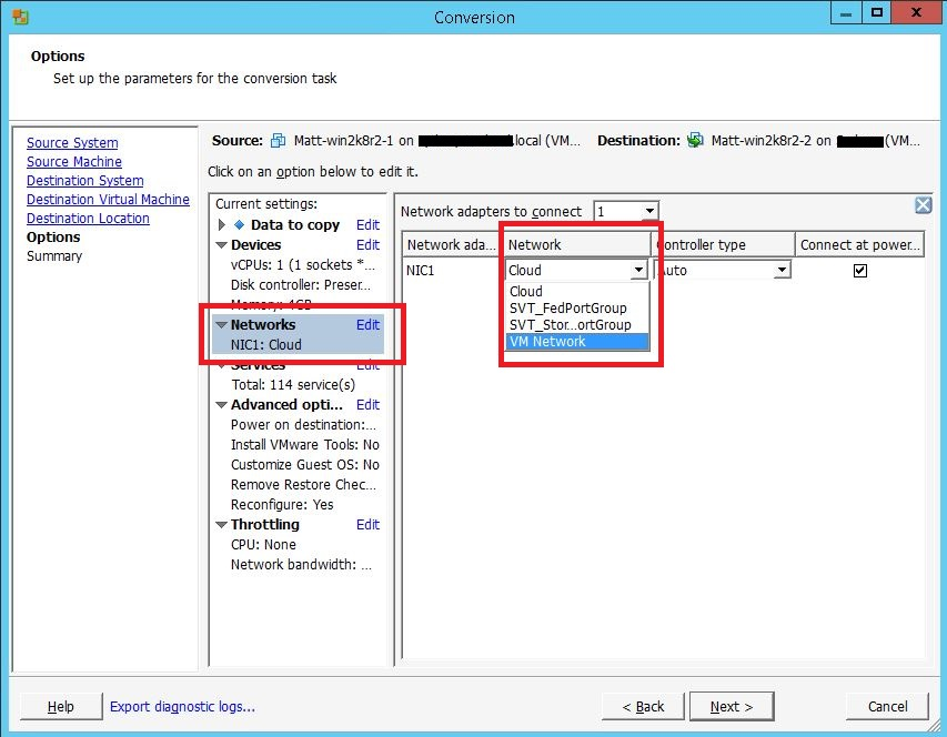 Changing Windows VM Boot Volume Block Size with vSphere